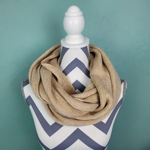 C.C Exclusives Metallic Infinity Scarf
